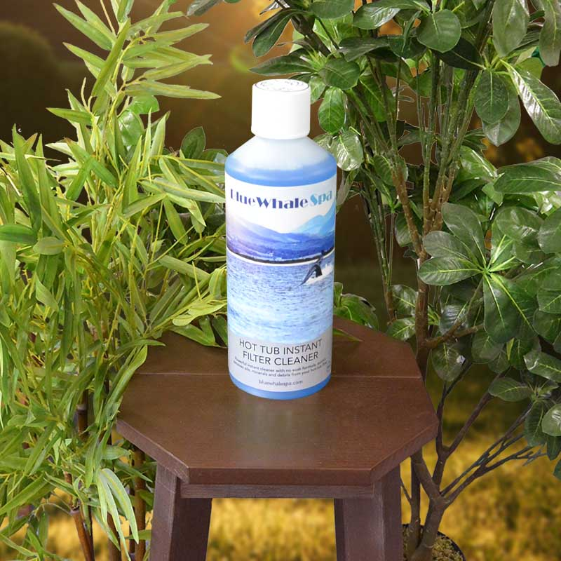 Blue Whale Spa | Hot Tub Instant Filter Spray