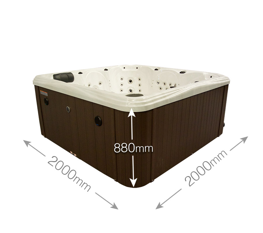 Blue Whale Spa | Crescent Bay Deluxe II High Quality Perfect For ...