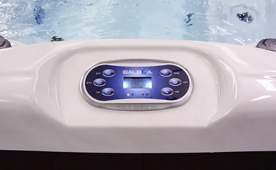 Blue Whale Spa   High Quality Hot Tub American Balboa Touch Screen Control