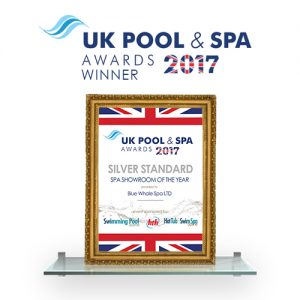 Blue Whale Spa | UK Pool & Spa Winner 2017 Best Showroom