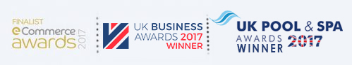 Blue Whale Spa | eCommerce Awards | UK Business Awards| UK Pool & Spa Awards WINNER