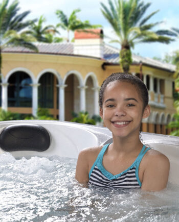 Asbury - Costco Hot Tub - Lifestyle Image