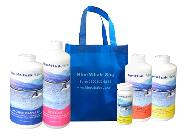 Blue Whale Spa - Hot Tub Chemical pack