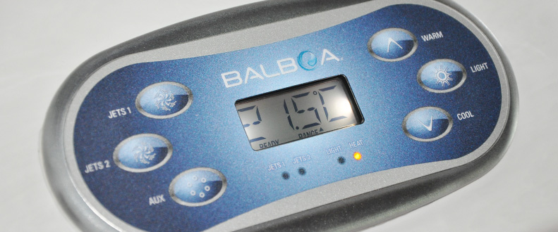 Blue Whale Spa | Hot Tub High Quality US Manufactured Balboa Control System