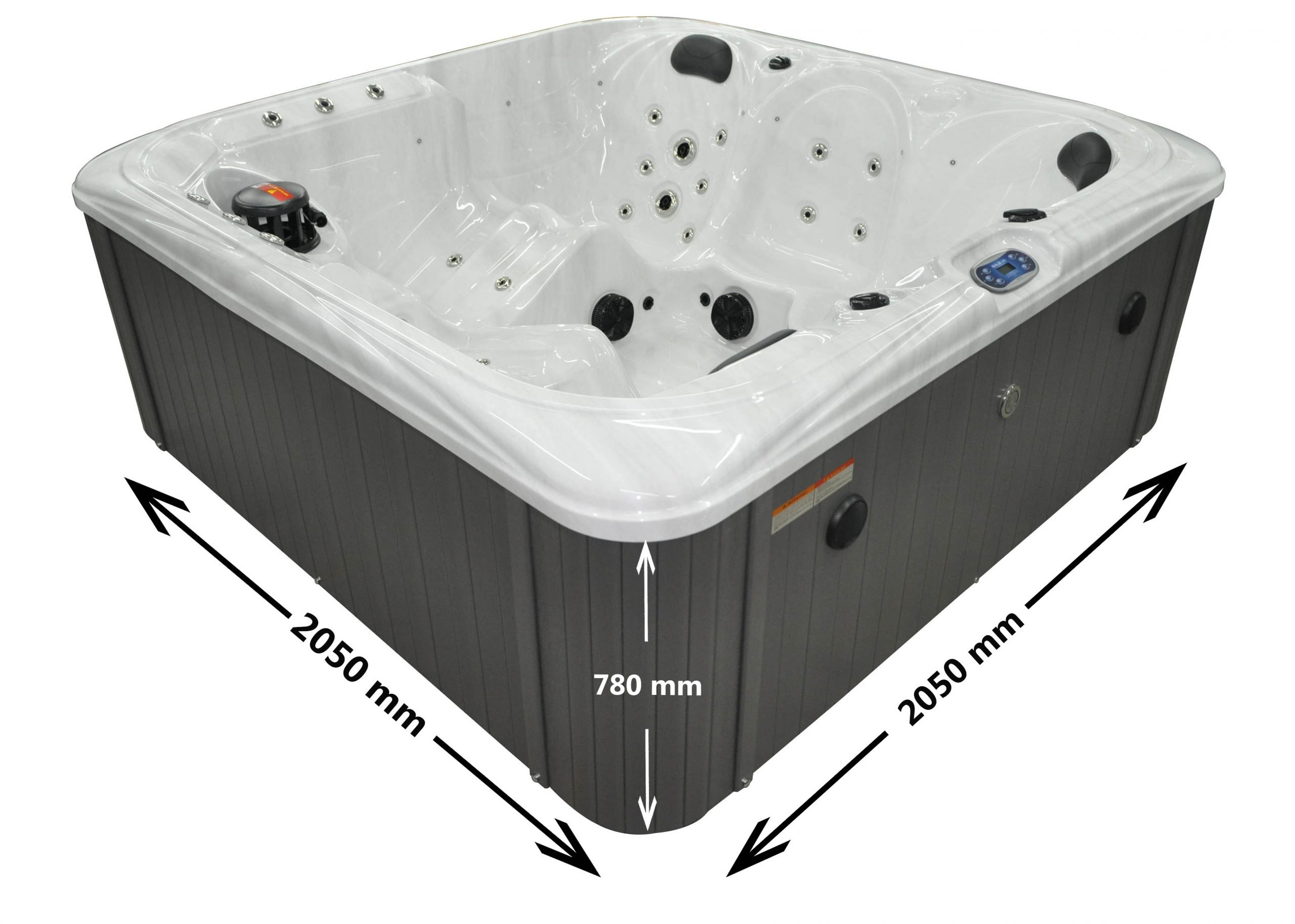 San Marcos 5 Person Hot Tub Dimensions