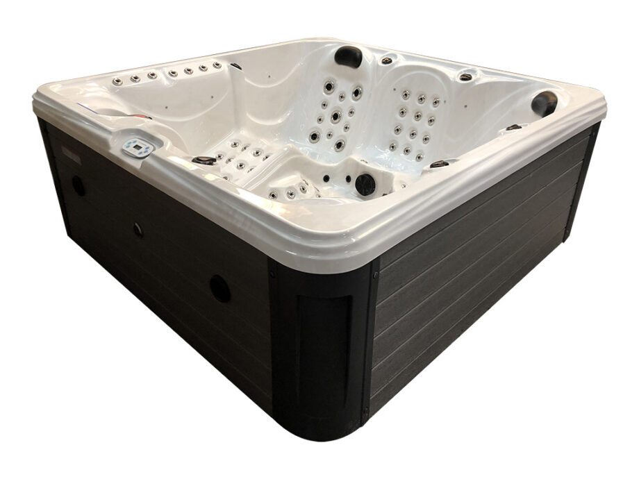 Blue River 6 person hot tub skirt