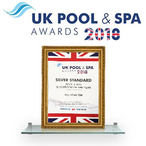 Blue Whale Spa - UK pool & spa Winners 2018