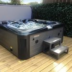 Laguna X Spark Hot Tub Installed and Running Image