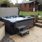 Pine Beach Hot Tub Installed and Running Image