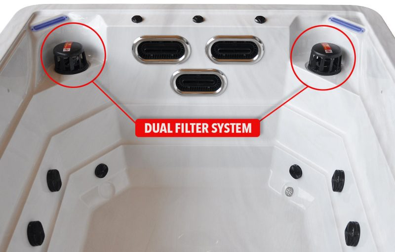 Power Stream - Swim Spa - Double Filter