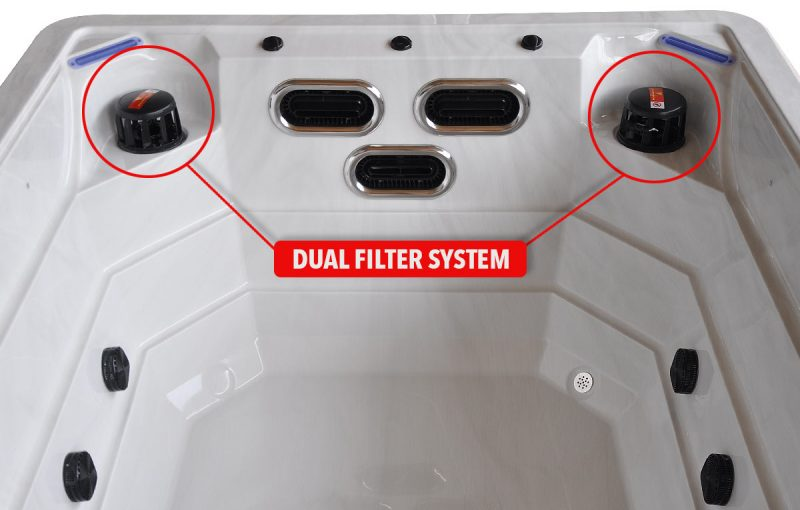 Tidal Stream - Swim Spa - Double Filter