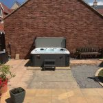 Venice Quattro Max Hot Tub Installed and Running Image