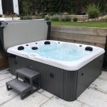 Whitewater Bay Hot Tub Installed and Running Image