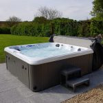 Zuma X Hot Tub Installed and Running Image