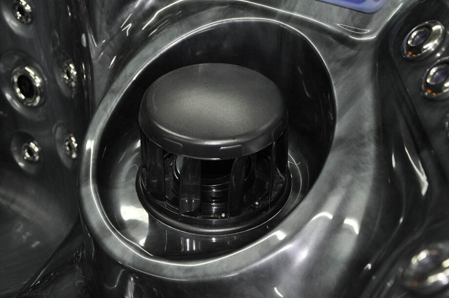 Crescent Bay Deluxe 3 Hot Tub Filter Detail