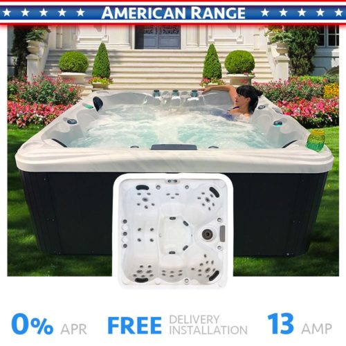 Malibu 3 5 Seater Hot Tub Product Cover