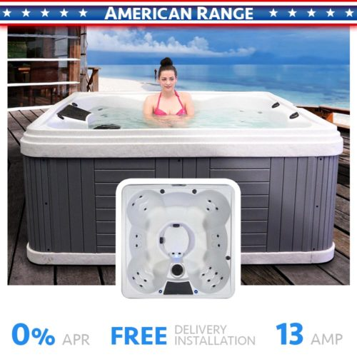 Palm Beach 7 Seater Hot Tub Product Cover