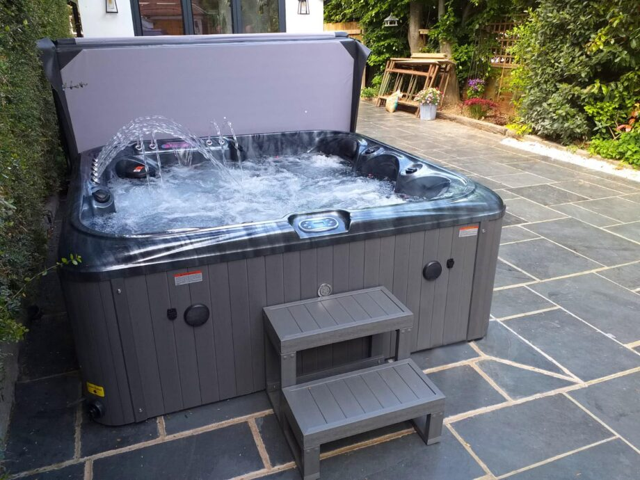 San Julien 5 Seater Hot Tub Installation View 4
