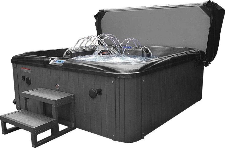 San Julien 5 Seater Hot Tub With Steps and Cover
