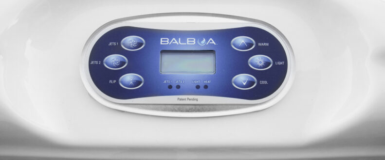 Broadway Bay Hot Tub With Balboa Control Panel