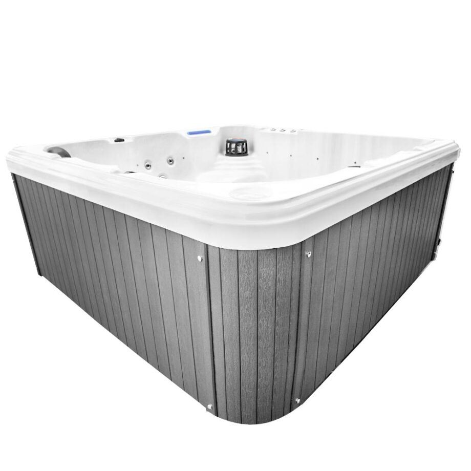 Magic Beach Hot Tub Corner View With Water Features