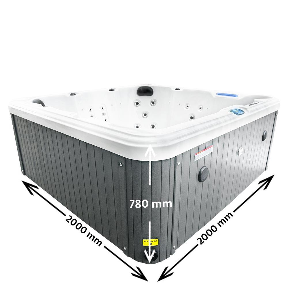 Magic Beach Hot Tub Dimensions
