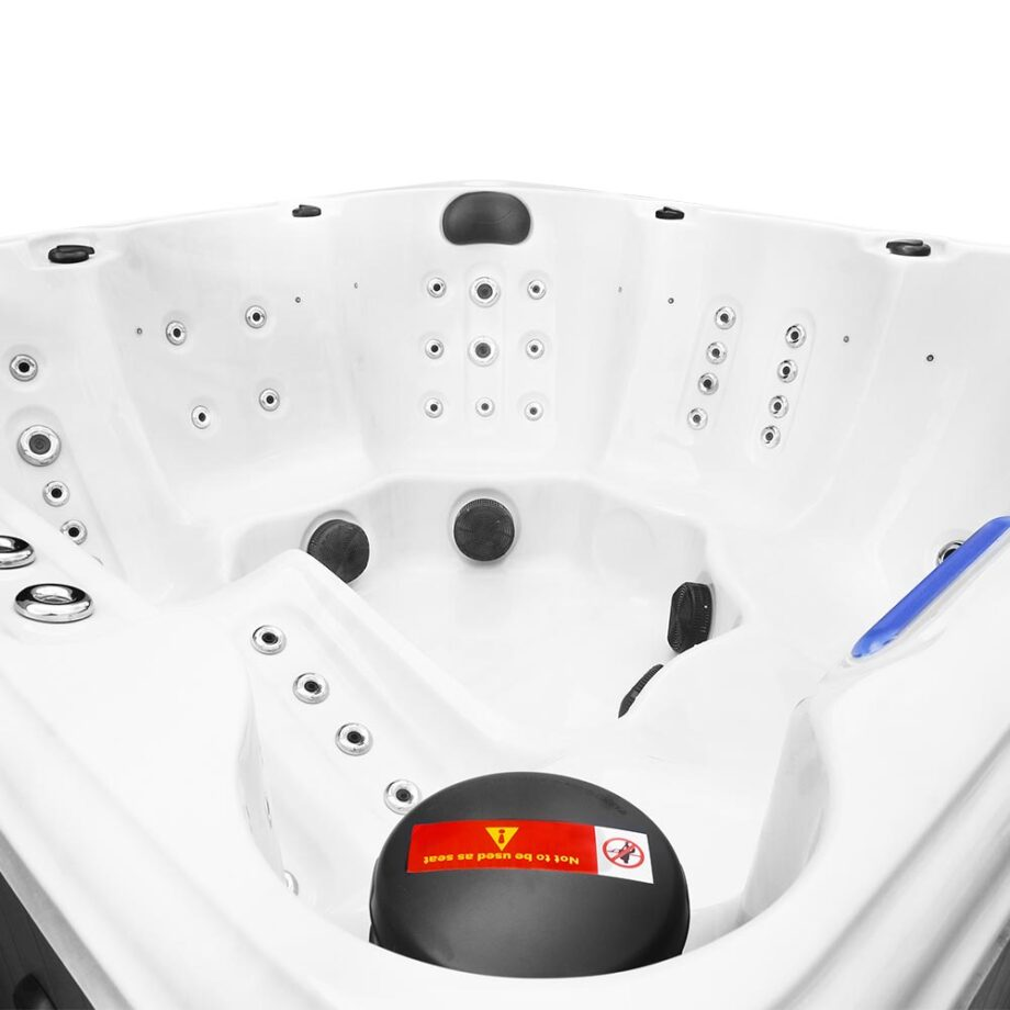 Magic Beach Hot Tub Water Features and Seating