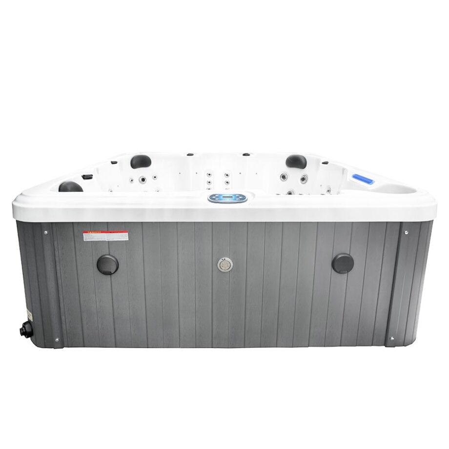 Magic Beach Hot Tub Skirt View With Bluetooth Speakers
