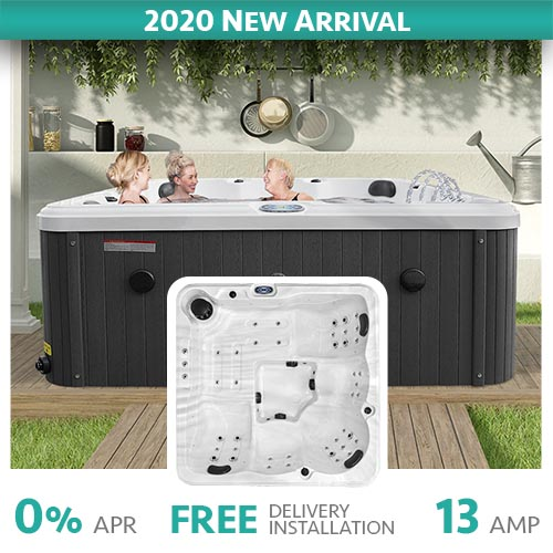 Ivy Beach 5 Seater Hot Tub