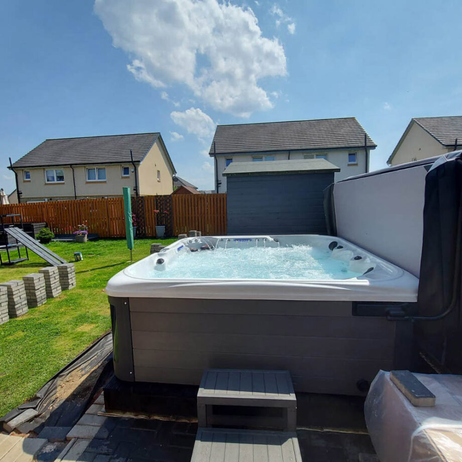 Imperial Max Hot Tub Install and Commission