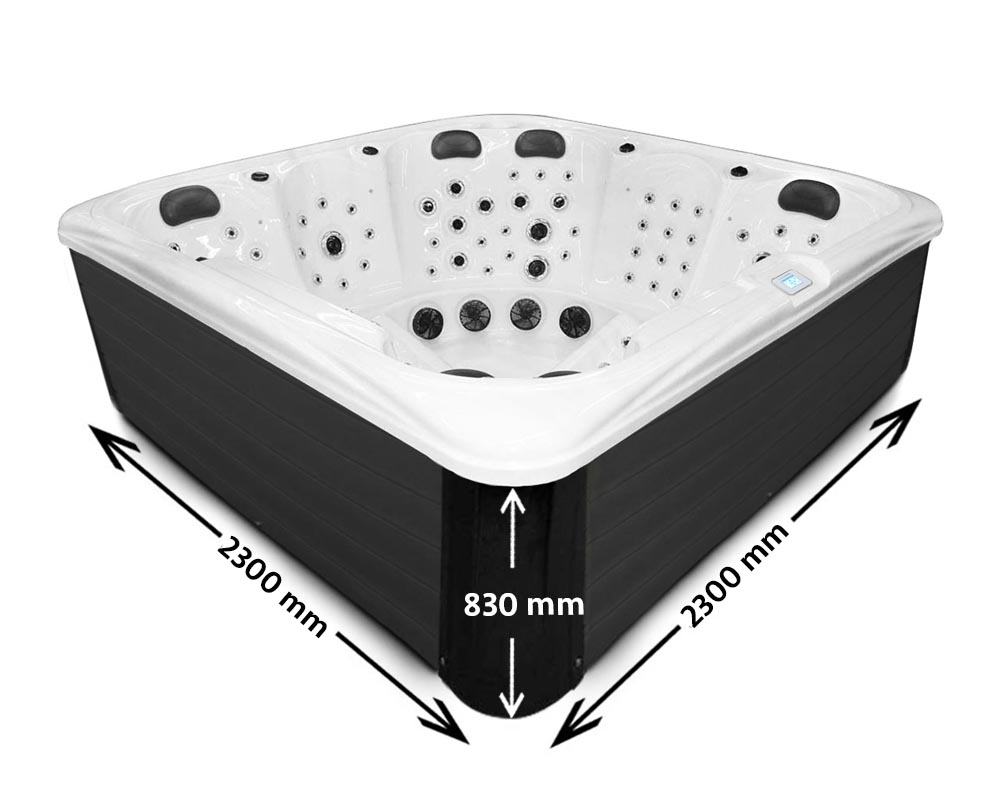 Imperial Max Hot Tub Dimensions