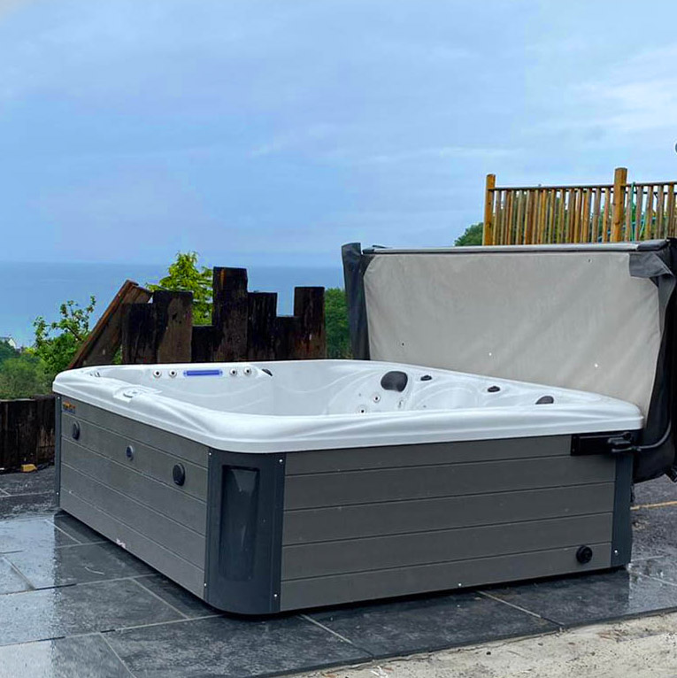 Imperial Max Hot Tub Install