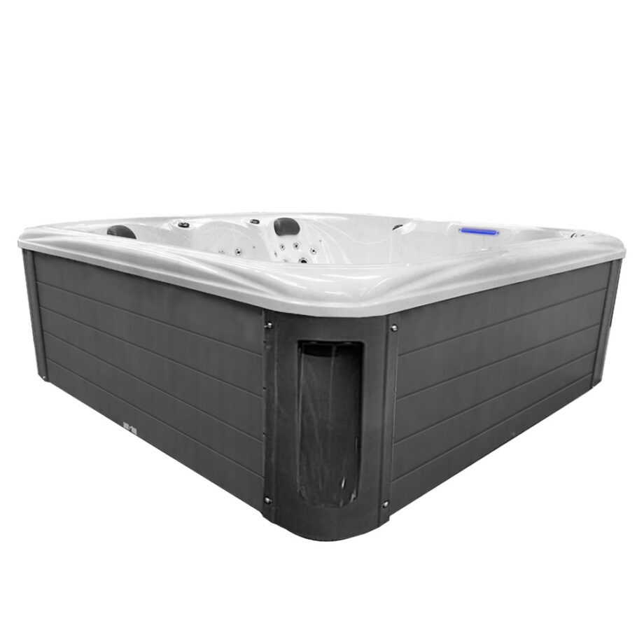 Imperial X six seater hot tub corner view