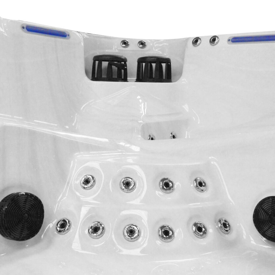 Imperial X six seater hot tub foot massager