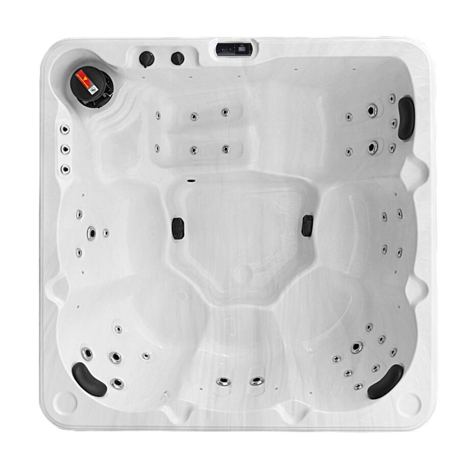 San Luis 4 Six Seater Hot Tub Top View