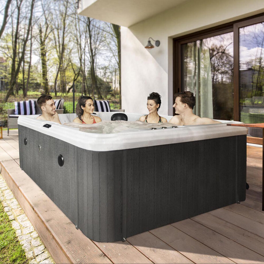 Angel Cove 2 Hot Tub Lifestyle Image
