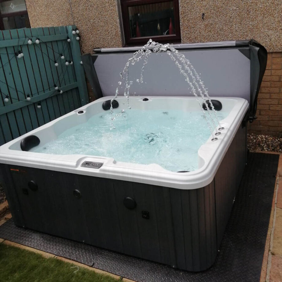 Angel Cove 2 Hot Tub Install